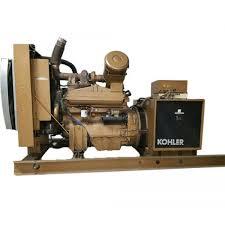 diesel generator 175 kw kohler john deere 175roz71 277 480 volt used