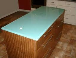 glass top kitchen island 15 best glowing glass countertops images on glass