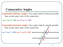 Definition Of Interior Angles Angles And Parallel Lines Ppt Video Online Download