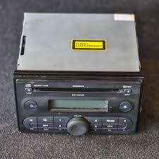 nissan micra radio removal nissan micra k12 radio unit with 6cd player 7645365318