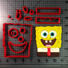 squarepants cookie cutter set