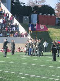 Garrison Flag Size Jrotc Cadets Present Garrison Flag At Eku Veterans Celebration