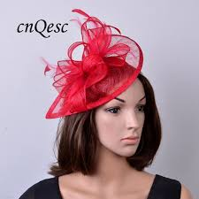 hair accessories melbourne 2017 new colour feather sinamay fascinator hat for wedding