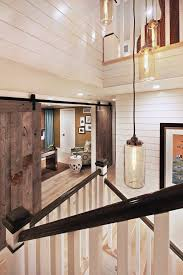 Interior Barn Doors Diy Interior Barn Doors Diy Staircase Traditional With Cascading Light
