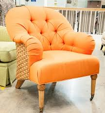 Orange Armchair Burnt Orange Accent Chair Leather U2014 Tedx Designs The Awesome