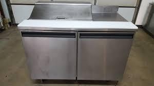 Commercial Prep Table Delfield 4048 8 4 Pan Prep Table Refrigerator Purveyor Of