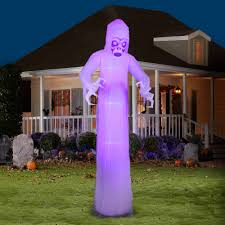 Halloween Inflatables Videos by Gemmy Airblown Inflatable 12 U0027 X 4 U0027 Giant Black Light Short Circuit