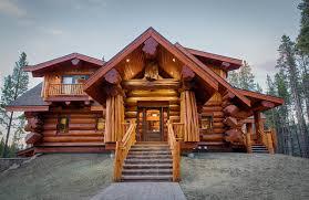 log cabin outdoor lighting 2013 parade home moose ridge cabin log home