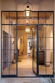 Custom Steel Exterior Doors Paneled Glass Wall W Door Would Work Well On Containers