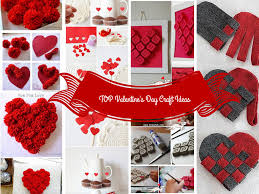 Homemade Valentines Gifts For Her by Top 7 Valentine U0027s Day Craft Ideas Will Inspire You
