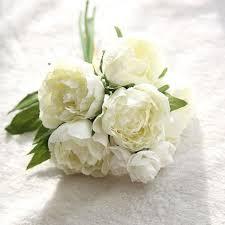 fleur artificielle mariage fleurs artificielles faux pivoine bouquet mariage floral partie