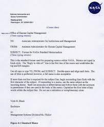 Business Letter Memorandum Example Npr 1450 10d Chapter4