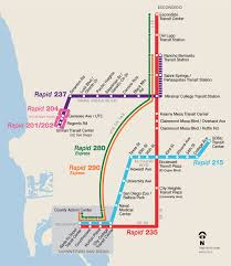 Map Of San Diego Airport by Rapid San Diego Metropolitan Transit System