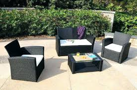 Wicker Patio Furniture Sets On Sale Fascinating Walmart Patio Furniture Sets Outdoor Patio Furniture