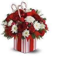 christmas flower arrangements candy christmas flowers arrangement christmasflowers