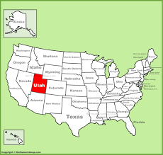 Mall Of America Stores Map by Utah Location On The U S Map