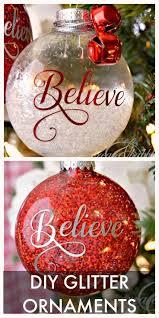 ornaments customized ornaments diy glitter