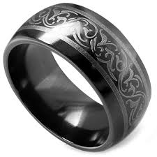 black titanium rings edward mirell men s black titanium ring elisa ilana