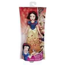 disney princess royal shimmer doll snow white toys