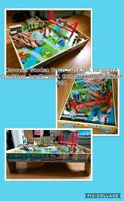 carousel train table set wooden carousel train table set in dunfermline fife gumtree