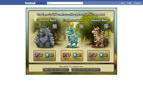 tamers tale facebook game game ui design freelancer antonw