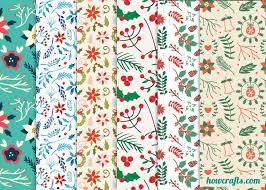 floral gift wrapping paper howcrafts 6 floral christmas wrapping papers howcrafts