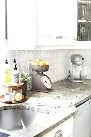 faux tin kitchen backsplash backsplash tin kitchen backsplash pressed how to makeover a
