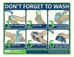 printable poster for hand washing don t forget to wash poster minnesota dept of health