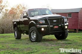ranger ford lifted 3 inch body lift 32x11 50 km mud terrians cragar 15x8s dee zee