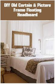 Curtains For Headboard 24 Diy Home Decor Projects Using Old Curtains Diy U0026 Crafts