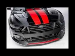 Black Mustang With Red Stripes Matte Black Mmd V Series Mustang Stripes 2015 All Youtube