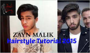 zayn malik hairstyle tutorial 2015 mens hair trends youtube