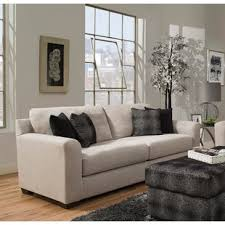 simmons antique memory foam sofa simmons davis sofa wayfair