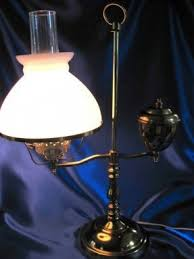 Antique Double Desk Lamp Glass Student Lamp Shades Foter