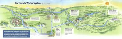 Downtown Portland Map by Riedlteach Com Portland U0027s Water System