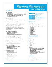 How To Write A Cv Or Curriculum Vitae Example Included Marvelous Ideas Creating A Curriculum Vitae Excellent Design How