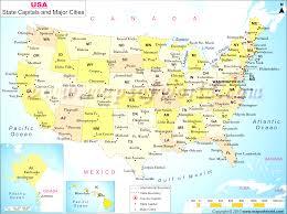 map of usa with major cities buy usa wall map with major cities map of united states with