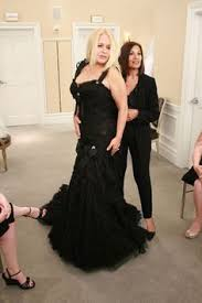 say yes to the dress black wedding dress i saw this silver pnina tornai on a special episode of say yes to