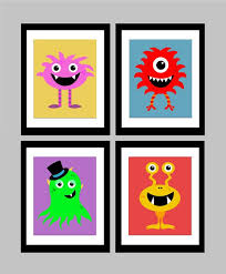 Prints For Kids Rooms by 15 Best Monster Prints For Kids Images On Pinterest Kid