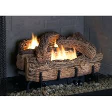 gas fireplace log placement palmetto oak natural gas log set with control gas fireplace log sets
