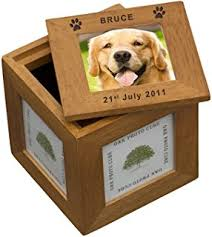 In Memory Of Gifts Personalised Personalised Wooden Pet Memorial Memory Or Keepsake Box For A