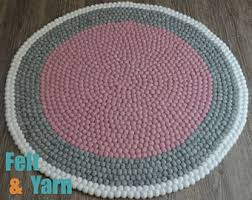 Wool Felt Rugs Quality Felt Ball Rugs Balls U0026 Cat Caves From Nepal By Feltnyarn