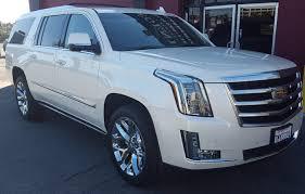 renting a cadillac escalade cadillac escalade esv white for rent legends car rentals