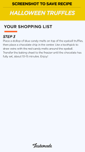 How To Draw A Halloween Picture Step By Step Halloween Truffles Recipe Tastemade
