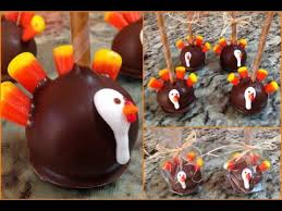 thanksgiving turkey cake pops how to