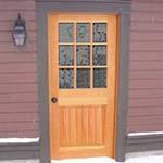 9 Lite Exterior Door Wood Exterior Doors Photo Gallery Homestead Doors The
