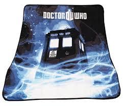 Doctor Who Home Decor by Amazon Com Doctor Who Throw Blanket Tardis Gallifrey Fleece