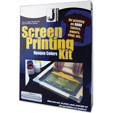jacquard opaque color screen printing kit