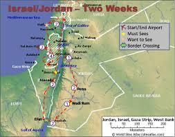 Gulf Of Aqaba Map Jordan Israel Map