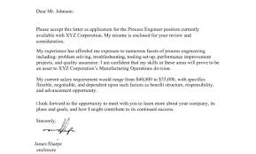 salary requirement cover letter negotiable u2013 cover letter example
